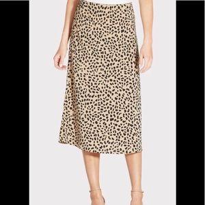 Sanctuary Everyday Midi Skirt Leopard Skirt